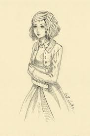 fanart the book thief liesel by eri d ann on  fanart the book thief liesel by eri d ann