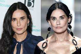 Demi Moore's transformation through the ...