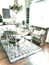 dining room rug ideas round