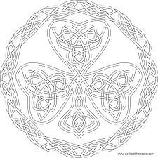 Printable Celtic Designs Coloring Pages Free Celtic Knot Coloring Pages For Adults Download Free