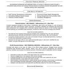 Financial Advisor Job Description Resume Financial Planner Jobscription Template Templates Resume Advisor 10