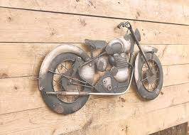 motorcycle 3d wall decor metal bike art metal art 3d art biker  on wall art 3d metal decor with photo gallery of motorcycle wall art viewing 16 of 24 photos