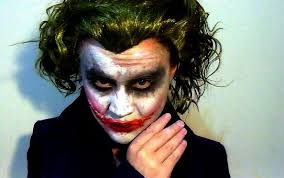 the dark knight joker makeup