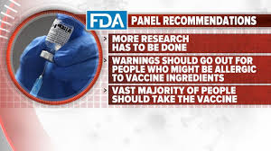 Tune your internet dial to vaccines.news for updates on the coronavirus vaccine containing ingredients that will give you cancer and covid at the same time. Abc News Live Update Fda Recommends Approval Of Pfizer S Covid 19 Vaccine Video Abc News