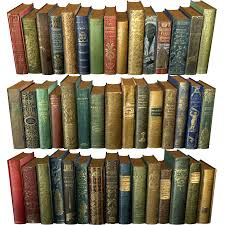 books old collection 1 low poly royalty free 3d model preview no 1