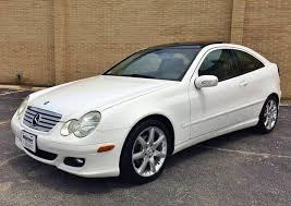 The w203 class c model is a car manufactured by mercedes benz, sold new from year 2004. 2005 Mercedes Benz C Class C 230 Kompressor 2dr Coupe Manual Stock 4566 For Sale Near Alsip Il Il Mercedes Benz Dealer