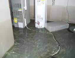 your basement might leak in the winter