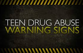 Signs of teen drug abuse