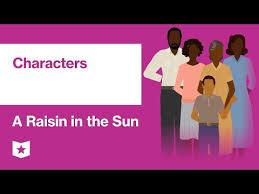 A Raisin In The Sun Character Analysis Chart A Raisin In The Sun Characters
