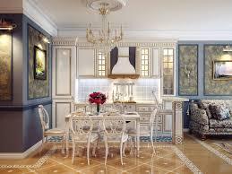 modern cottage kitchen design. Interior:Modern Open Cottage Kitchen Design Style With Luxury Chandelier Idea Modern G