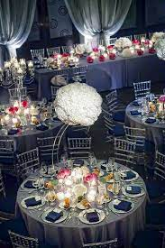 silver wedding decorations wedding