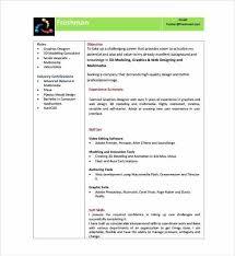 Modern Formatted Resume Templates Resume Template Free Good Cv Pdf Format Modern Download
