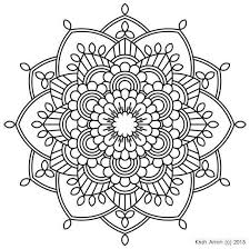 Small Picture Startling Mandala Coloring Pages For Kids Printable Archives