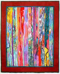 fiber art quilt art wall hanging contemporary quilt modern art
