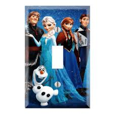 Frozen Light Switch Cover Frozen Decorative Single Toggle Light Switch Wall Plate