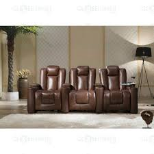 italian leather home theatre electric recliner chair 3
