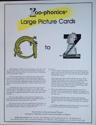At the zoo listening worksheet grade/level: Zoo Phonics Large Picture Cards Zoo Phonics Georgene E Bradshaw Amazon Com Books