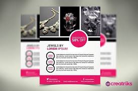 Jewelry Flyer Jewelry Flyer Flyer Templates Flyer Template Event