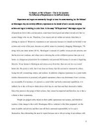 the influence of repentance on the self and society in his essay  page 1 zoom in