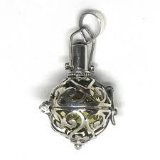 bd 13759 bali 925 silver harmony ball pendant
