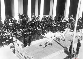 「1896 – In Athens, the opening of the first modern Olympic Games」の画像検索結果