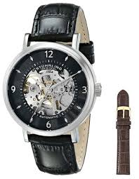buy stuhrling original mens 671 01 legacy mechanical skeleton buy stuhrling original mens 671 01 legacy mechanical skeleton black watch in cheap price on alibaba com
