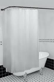 black shower curtain rod utopia alley rustproof l shaped corner shower curtain rod black curved shower