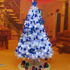 ... Blue Decoration White Christmas Tree (12) ...