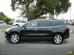 2011 Black Granite Metallic Chevrolet Traverse LTZ #50549509 Photo ...