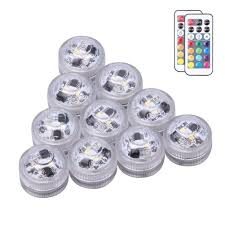 Efx Led Lights Amazon Submersible Led Lights 10x Waterproof Light Infrared Remote