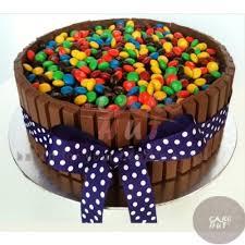 Kitkat Gems Cake Birthday Cakes Cochinsend Cake To Cochin