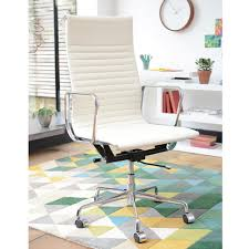off white office chair. Nexus Tall Back Home Office Chair Off White