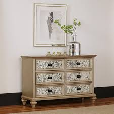 types of bedroom furniture. Visions 6-Drawer Silver Gold Champagne Finish Dresser Types Of Bedroom Furniture A