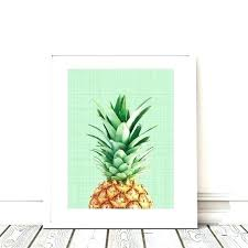 pineapple wall decor stickers target party wrought iron wedding