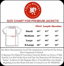 Winter Jacket Size Chart Barcelona Fc Premium Quality Winter Jacket Color Maroon
