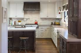 Full Size of Kitchen:kitchen Cabinets Two Tone Antique White Wood Hood  Island Lux Kitchen ...