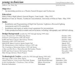 How To Write A Theatre Resume The Rewrite Writing A Theatre Resume