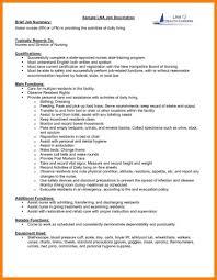 9 Job Description Resume Mla Cover Page Descriptions For Cashier