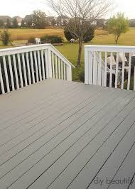 our gross deck was cleaned and updated with paint you ll find the tutorial