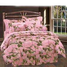 pink camo bedding comforter set and accessories