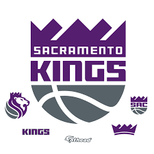 Decal Removable Licensed Giant Logo Officially Kings Wall - Nba Sacramento