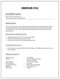 Resume Format Google Resume Format Template Google Docs Word Document Sample Examples