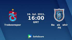 Trabzonspor vs Başakşehir FK live score, H2H and lineups