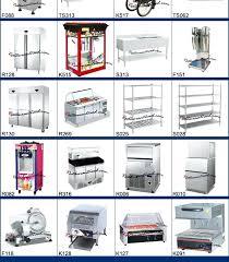 restaurant kitchen equipment list. Kitchen Equipment List Project Fast Food Restaurant Of Tools And With I