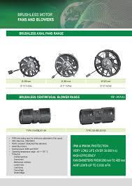 spal brushless brushless motor fans