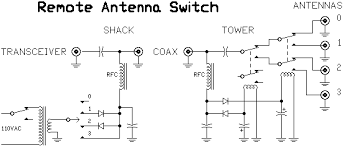 n1al remote coaxial antenna switch schematic of remote antenna switch