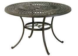 48 round patio table by luxury cast aluminum patio furniture round dining table 48 round glass