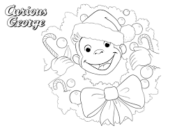 Coloring Pages For Kids Curious George With Curious George Coloring