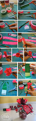 Make your own duck tape rose pen bouquet | Tween Crafts - Connecting Mom  and Daughter