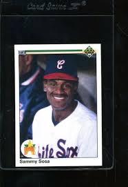 Www.pinterest.com 21x sammy sosa rookie cards 1990 topps fleer bowman donruss score baseball *a7: 1990 Upper Deck Sammy Sosa 17 Baseball Card For Sale Online Ebay